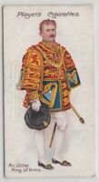 Ulster King Of Arms North Ireland England King 100+ Y/O Trade Ad Card