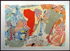 """Sally Anderson """"Assemblage '87 No.30"""" Original Acrylic Painting and Collage Art"""