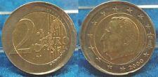 Belgien 2 € 2000 Fehlprägung dezentriert und ohne Riffelrand geprägt (1),  vz