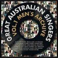 GREAT AUSTRALIAN SINGERS Vol. 1 Men's Archive CD BRAND NEW