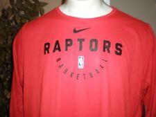 NWT TORONTO RAPTORS NIKE NBA L/S T-SHIRT SZ:3XL 3X XXXL