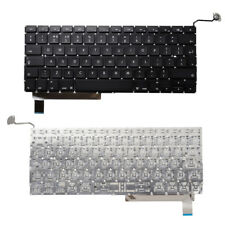 Para Apple Macbook Pro Unibody 15 2009-2012 A1286 Keyboard UK Layout Negro MB985