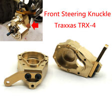 1Pair Metal Brass Front Steering Knuckle 135g Upgrade For Traxxas TRX-4 Crawler