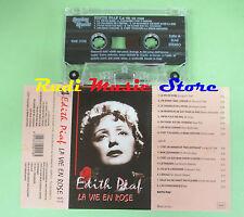 MC EDITH PIAF La vie en rose italy REPLAY MUSIC RMK 2158 no cd lp dvd vhs