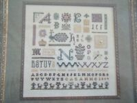 "The Drawn Thread ""Toccato Number 2"" Cross Stitch Pattern"