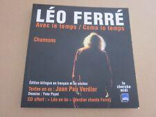 LIVRE LEO FERRE  . EDITION BILINGUE EN FRANCAIS ET EN OCCITAN ..JOAN PAUL VERDIE