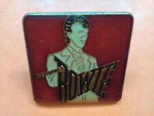 Pins David bowie email enamel  80's rock pop broche collection vintage original