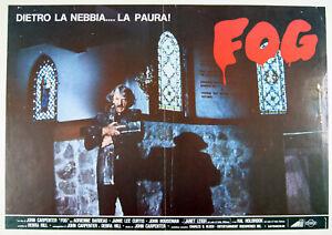 5 fotobuste film THE FOG John Carpenter Jamie-Lee Curtis 1980