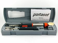 Portasol Superpro 125 Kit Professional Butane Gas Soldering Iron SP-1K