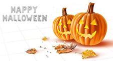 "40"" Happy Halloween Supershape Foil Letter Balloon Set - Flat In Silver"