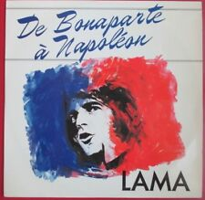 "SERGE LAMA - RARE LP SIMPLE ""DE BONAPARTE À NAPOLÉON"" ""READER'S DIGEST"""