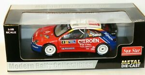 1/18 Citroen Xsara WRC  Total  Rally Catalunya 2004   Carlos Sainz / Marc Marti