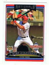 2006 Topps #T3 Ryan Zimmerman,rookie card,3b,Washington Nationals,NM-MT