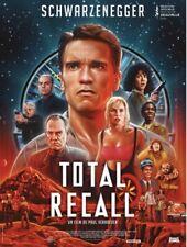 TOTAL RECALL (RESSORTIE)  - Affiche cinema 40X60 - 120x160 Movie Poster