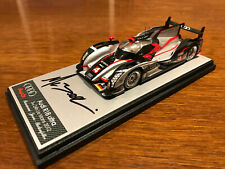 Audi R18 Ultra Le Mans 2012 Bonanomi - Jarvis - Rockenfeller 1:43 Spark SIGNED
