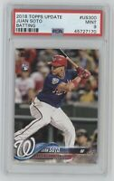 2018 Topps Update Juan Soto #US300 Flagship Rookie RC PSA Mint 9 QTY Available