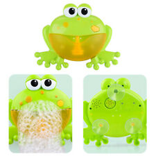 Frog Automatic Bubble Maker Blower Music Bath Toy For Baby