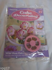 Deagostini Cake Decorating Revista Wild Rose Cutter N ° 114 Nueva
