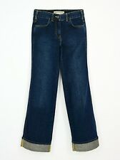 New Women's 2 French Connection High Waist Wide Leg Jeans 70s Retro 100% Cotton