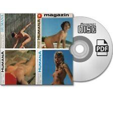 Sammlung 4x HUMANA FKK Kunst Nude Natur Akt Magazin Nr 24/42/43/56 - eBook PDF