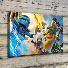 Ninja Warriors The LEGO Ninjago HD Canvas Print Home Decor Wall Art Picture