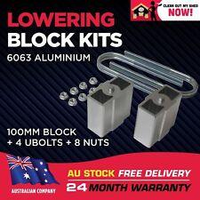 """Lowering Blocks Kit Holden HQ HJ HX HZ WB Ute Van 1 Tonner 4"""" (100mm) 72 - 88"""