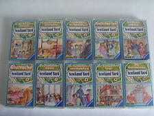 MC Kassetten Sammlung Scotland Yard Folge 1-10 Karussell 1 2 3 4 5 6 7 8 9 10