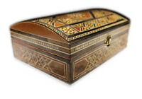 Holz ,Schatulle,Kästchen,Box,Mosaik,Aufbewahrung, Damaskunst K 4-3-41