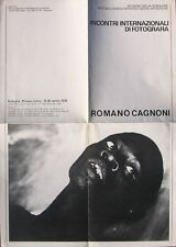 Romano Cagnoni. Incontri Internazionali di Fotografia