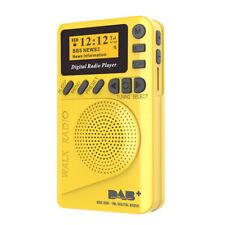 Pocket DAB Digital Radio Mini DAB+ Digital Radio With MP3 Player FM Radio W4F4
