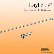 Layher Fahrgerüst Rückenlehne 2,85m Gerüst Einzelteil Geländer f. Rollgerüst