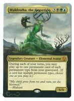 Muldrotha the Gravetide Altered Full Art MTG Magic Commander EDH Birthday Gift