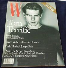 W Magazine January 1997 Tom Cruise Milla Jovovich Patti Smith Guinevere Van Seen