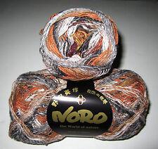 100 gram ball of NORO TAIYO SOCK cotton silk nylon wool knitting yarn color #69