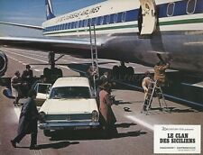 ALAIN DELON LE CLAN DES SICILIENS 1969 VINTAGE LOBBY CARD ORIGINAL #18