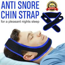 Chin Strap Sleep Apnea Stop Snoring Solutions Anti Snore Jaw Belt Apnoea Device