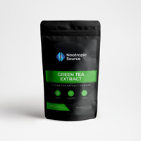 Green Tea Extract Powder (100g) High Quality Extract - Nootropic Source