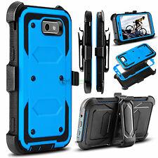Hybrid Clip Holster Stand Hard Phone Case for Samsung Galaxy J3 Luna Pro /Prime