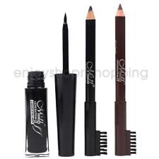 Waterproof Black Mascara Eyelashes Makeup Tool & Black Brown Eyebrow Pencil
