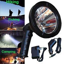 CREE LED Handheld Hunting Spot Light 125mm Lamping Shooting Rechargable 100W