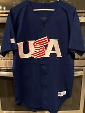 Team USA Authentic Baseball Jersey 44 Olympic Auth