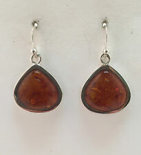 Barse Jewelry Amber and Sterling Silver Earrings