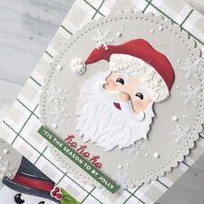 Santa Claus Christmas Cutting Dies Stencils DIY Scrapbook Embossing Cards Decor