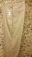 NWT Eddie Domani men's khaki pants 40 X 30 only $17.99