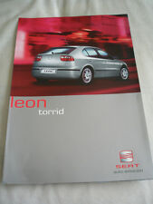 Seat Leon Torrid brochure May 2002 German text