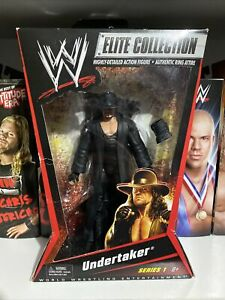 WWE WWF Undertaker series 1 Elite Collection Mattel Figure Rare