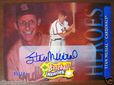 Stan Musial 2005 6/20 Upper Deck Baseball Heroes  Autographed Card 1/1
