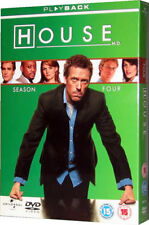 House M.D. Complete Series Four MD Season 4 Boxset DVD