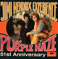 ★☆★ CD Single Jimi HENDRIXPurple Haze 2-track CARD SLEEVE  ★☆★
