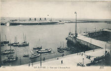 Shipping LE HAVRE Port France PPC outer port with transatlantic liner
